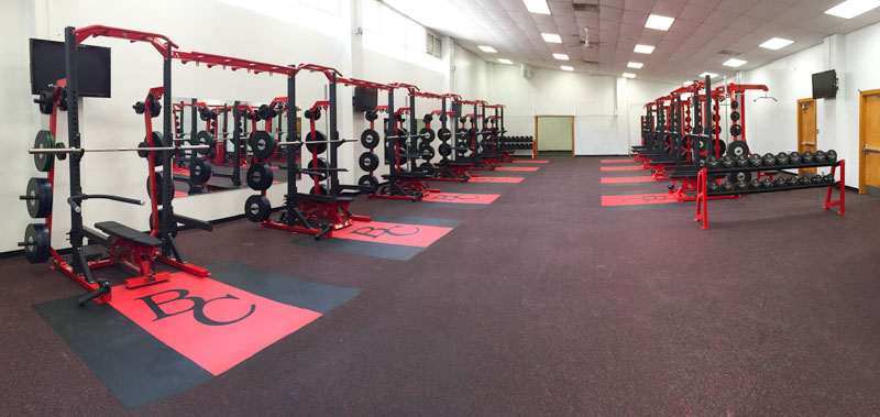 Bakersfield College Rubber Flooring